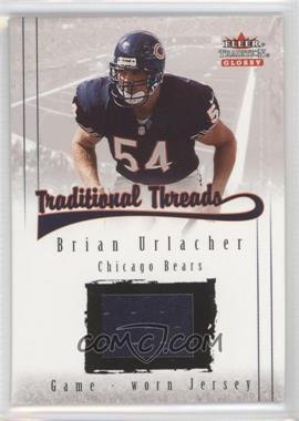 2001 Fleer Tradition Glossy [???] #N/A - Brian Urlacher