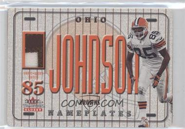 2001 Fleer Tradition Glossy Nameplates #KEJO - Kevin Johnson