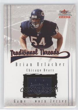 2001 Fleer Tradition Glossy Traditional Threads #BRUR - Brian Urlacher