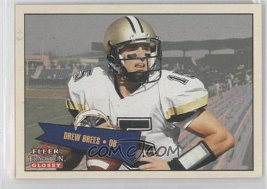 2001 Fleer Tradition Glossy #402 - Drew Brees /2001