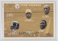 Pittsburgh Steelers Team Leaders/Checklist (Kordell Stewart, Jason Gildon, Jero…