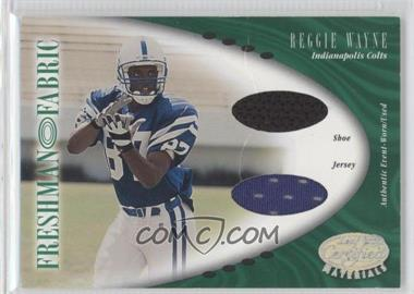 2001 Leaf Certified Materials [???] #118 - Reggie Wayne /400