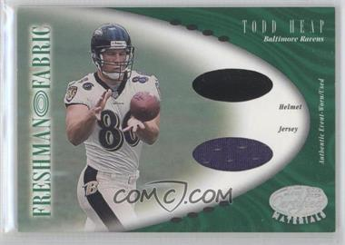 2001 Leaf Certified Materials [???] #129 - Todd Heap /400