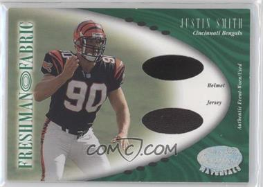 2001 Leaf Certified Materials [???] #144 - Justin Smith /400