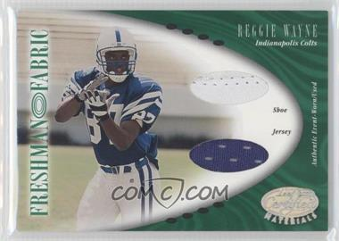 2001 Leaf Certified Materials #118 - Reggie Wayne /400