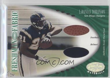 2001 Leaf Certified Materials #128 - LaDainian Tomlinson /400