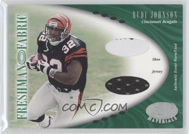 2001 Leaf Certified Materials #131 - Rudi Johnson /400