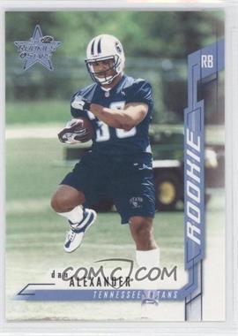 2001 Leaf Rookies & Stars - [Base] #108 - Dan Alexander