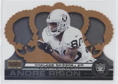 2001 Pacific Crown Royale - [Base] - Premiere Date #102 - Andre Rison /99