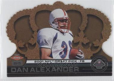2001 Pacific Crown Royale - [Base] #155 - Dan Alexander /1750
