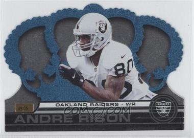 2001 Pacific Crown Royale [???] #102 - Andre Rison /75