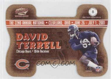 2001 Pacific Crown Royale National Convention Cleveland Dog Bone Die-Cut #8 - Kevin Johnson /1000