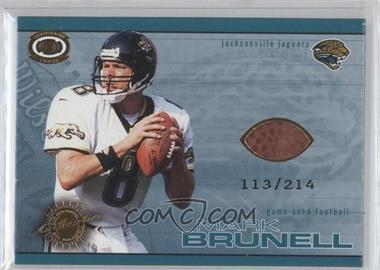 2001 Pacific Dynagon Game-Used Footballs #10 - Mark Brunell /214