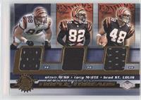 Steve Bush, Tony McGee, Brad St. Louis