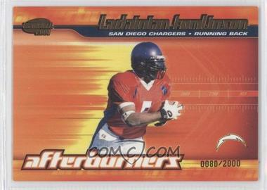 2001 Pacific Invincible Afterburners #19 - LaDainian Tomlinson /2000