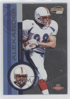 2001 Pacific Invincible Retail #298 - Dan Alexander