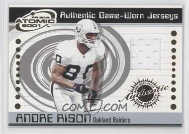 2001 Pacific Prism Atomic Authentic Game-Worn Jerseys #67 - Andre Rison