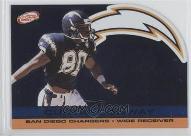 2001 Pacific Prism Atomic Blue #122 - Curtis Conway /29