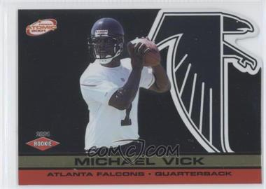 2001 Pacific Prism Atomic Gold #151 - Michael Vick /116