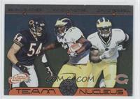 Brian Urlacher, Anthony Thomas, David Terrell