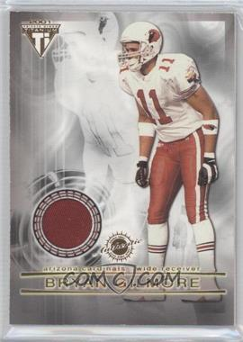 2001 Pacific Private Stock Titanium Dual Game-Worn Jerseys Patches #36 - Bryan Gilmore, Jermaine Lewis