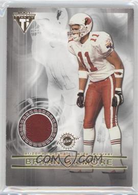 2001 Pacific Private Stock Titanium Dual Game-Worn Jerseys Patches #36 - Jermaine Lewis