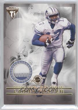 2001 Pacific Private Stock Titanium Dual Game-Worn Jerseys Patches #83 - Larry Foster, Allen Rossum