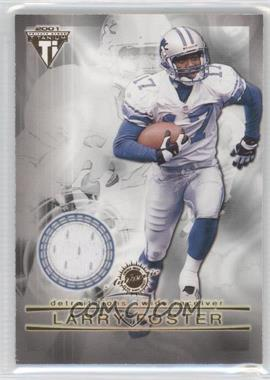 2001 Pacific Private Stock Titanium Dual Game-Worn Jerseys #83 - Larry Foster, Allen Rossum