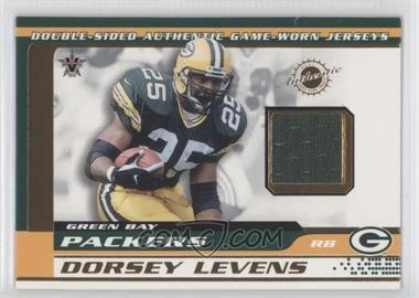 2001 Pacific Vanguard Double-Sided Jerseys #34 - De'Mond Parker, Dorsey Levens
