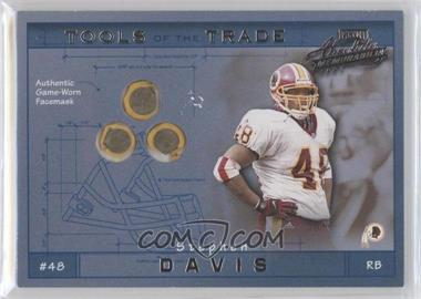 2001 Playoff Absolute Memorabilia - Tools of the Trade #TT-38 - Stephen Davis