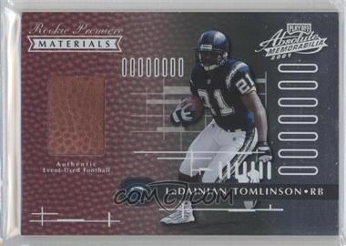 2001 Playoff Absolute Memorabilia [???] #158 - LaDainian Tomlinson /850