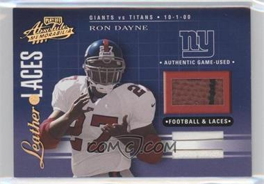 2001 Playoff Absolute Memorabilia [???] #LL30 - Ron Dayne /50