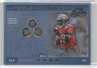 2001 Playoff Absolute Memorabilia Tools of the Trade #TT-36 - Warrick Dunn /125