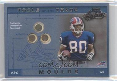 2001 Playoff Absolute Memorabilia Tools of the Trade #TT-37 - Eric Moulds /125