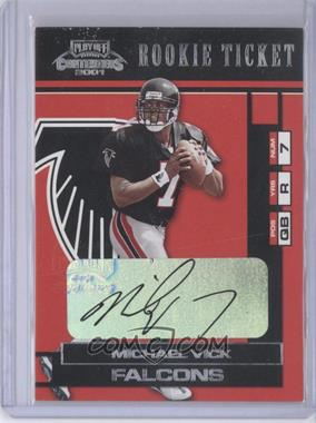 2001 Playoff Contenders #157 - Michael Vick