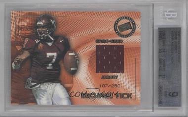 2001 Press Pass SE - Game-Used Jerseys #MIVI - Michael Vick /250 [BGS9]