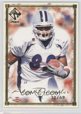 2001 Private Stock [???] #103 - Alge Crumpler /49