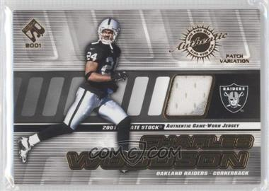 2001 Private Stock [???] #116 - Charles Woodson /225