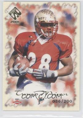2001 Private Stock [???] #138 - Travis Minor /200