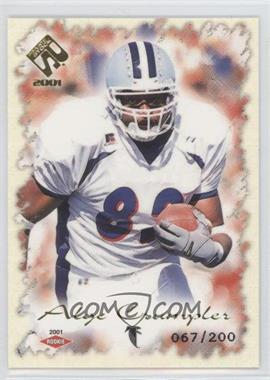 2001 Private Stock Gold Foil #103 - Alge Crumpler /200