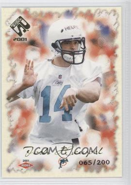 2001 Private Stock Gold Foil #137 - Josh Heupel /200