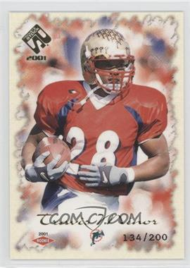 2001 Private Stock Gold Foil #138 - Travis Minor /200