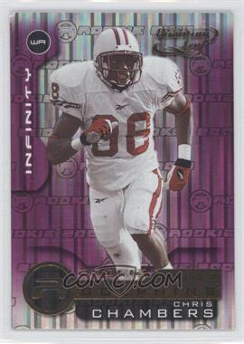 2001 Quantum Leaf Infinity Purple #236 - Chris Chambers /15