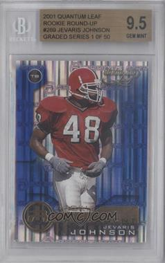 2001 Quantum Leaf #289 - Jevaris Johnson [BGS 9.5]