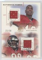 Keyshawn Johnson, Warren Sapp /50