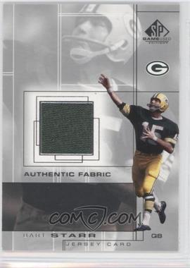 2001 SP Game Used Edition Authentic Fabric #BS - Bart Starr