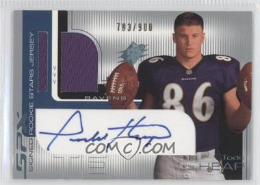 2001 SPx - [Base] #108.2 - Todd Heap (Two Footballs) /900