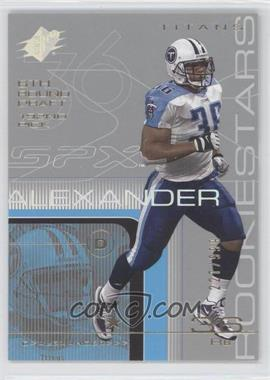 2001 SPx - [Base] #130 - Dan Alexander