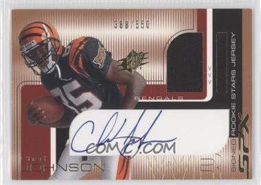 2001 SPx #100 - Chad Johnson /550