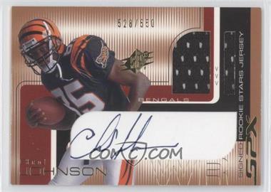 2001 SPx #100 - Chad Johnson /550